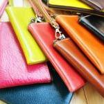 Leather Phone Bag, Slim typ..