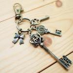 Charm Keychain, Romantic Ke..