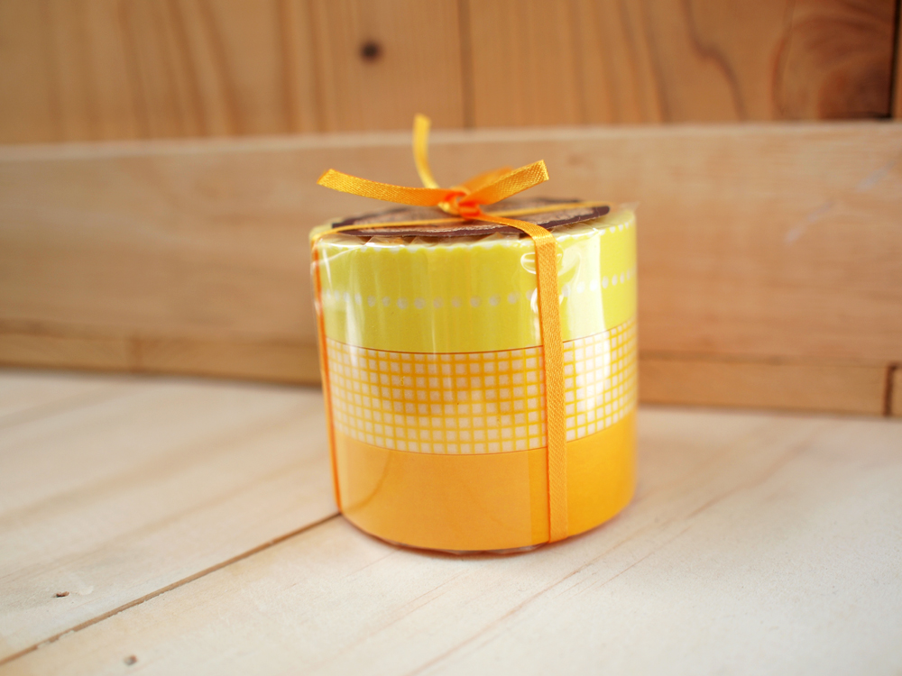 Japanese Masking Tape, Colorful Yellow