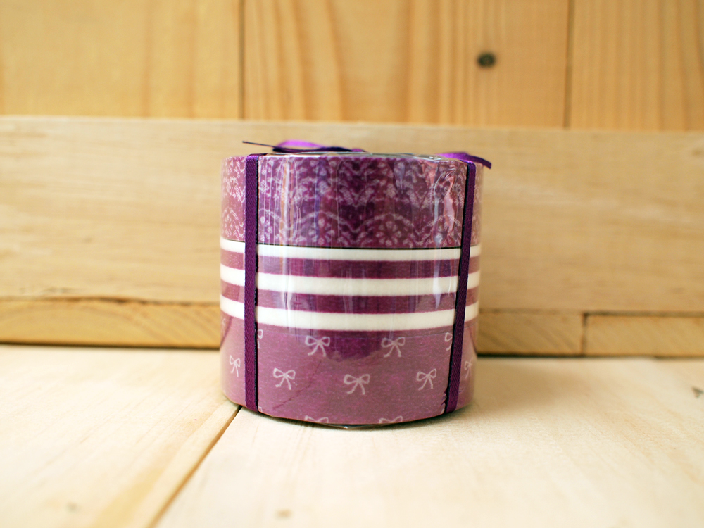 Japanese Masking Tape, Editions de Tokyo, Lace, Purple