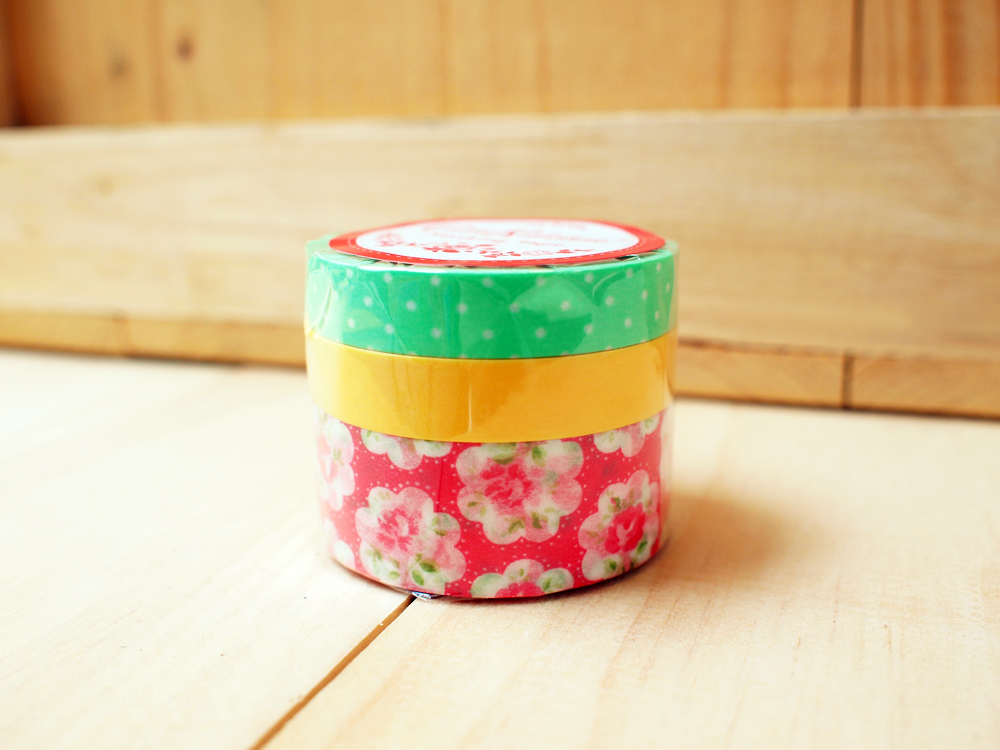 Cath Kidston, Japanese masking tape, Red flower