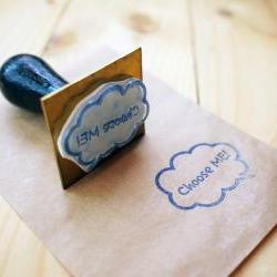 Custom-Made-Order Bubble Stamp